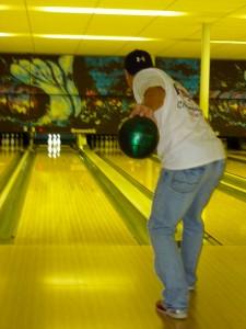 Bowling is fun.